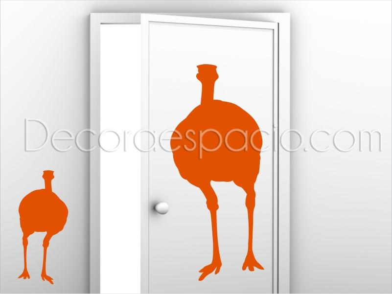 Vinilo avestruz