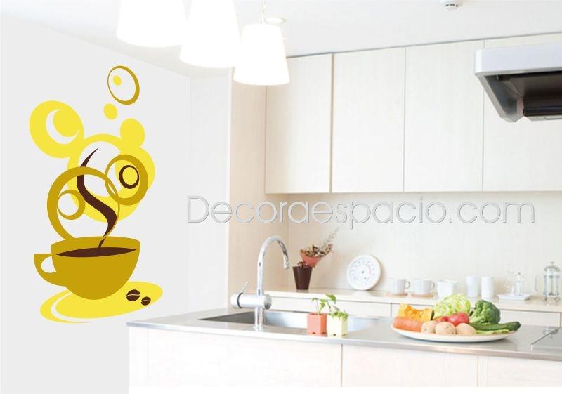 Vinilo taza amarilla